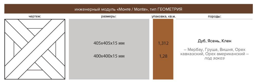 Инженерный модуль МОНТЕ
